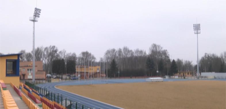 Prace na sieradzkim stadionie