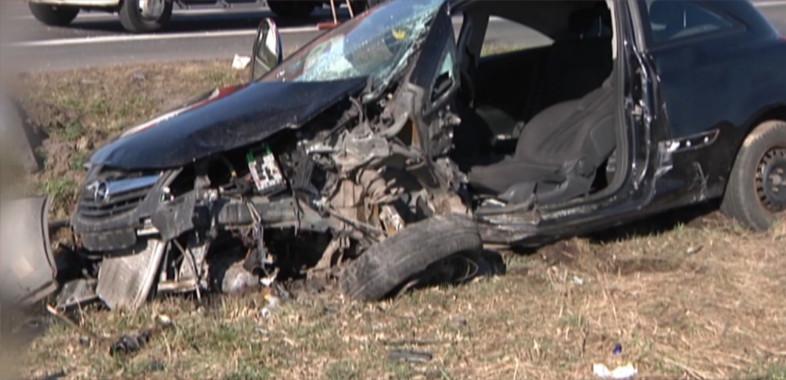 Wypadek samochodowy w miejscowości Okup