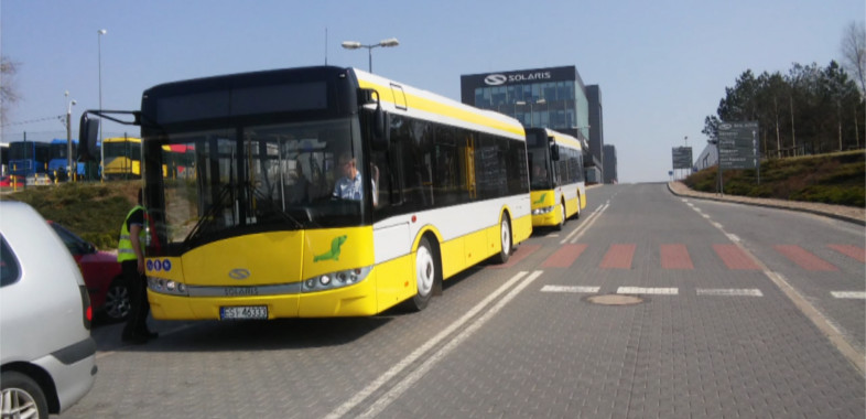 Kolejne autobusy na ulicach Sieradza