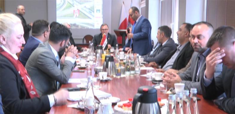 Wizyta przedsiębiorców z Iraku