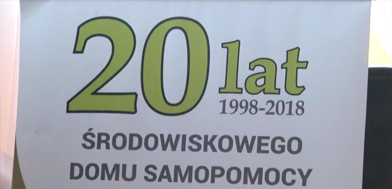 20-lecie Środowiskowego Domu Samopomocy w Dąbrowie Widawskiej