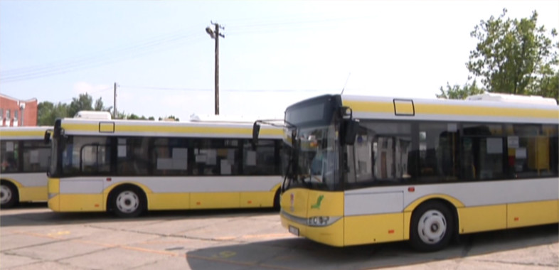 Transport publiczny w Gminie Sieradz