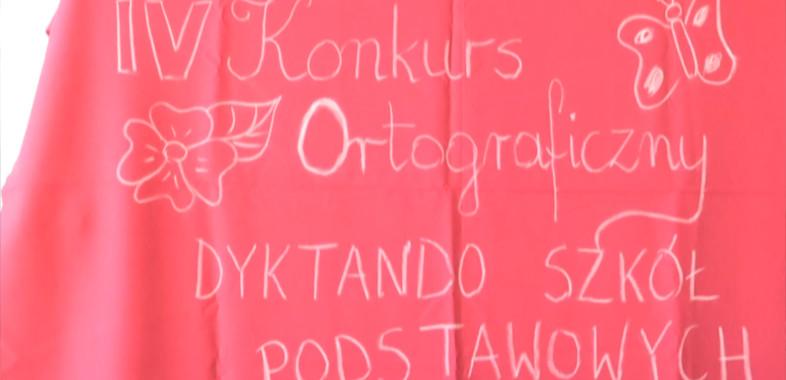 Konkurs ortograficzny w Łasku