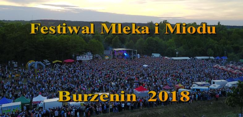 Festiwal Mleka i Miodu w Burzeninie 2018 – ogłoszenie