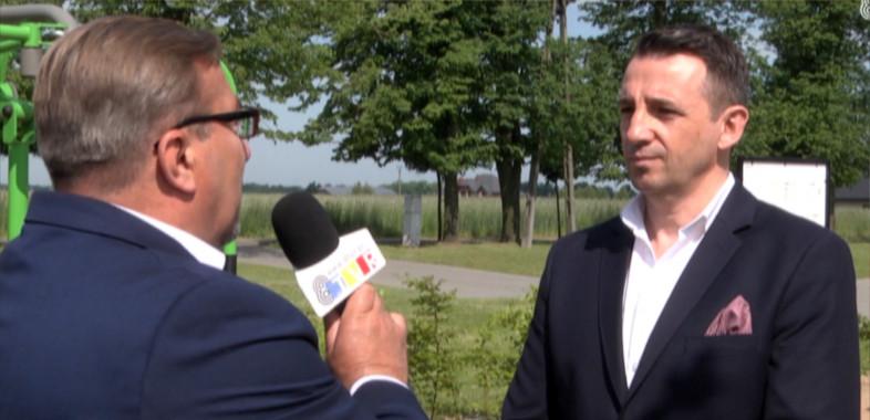 Wieści Regionalne – rozmowa z prezesem LGD Przymierze Jeziorsko – Wiktorem Baranowskim