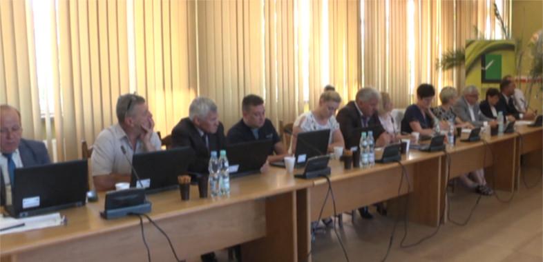 Sesja absolutoryjna rady miejskiej w Łasku