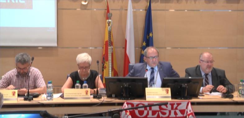 Sesja absolutoryjna Sejmiku Województwa Łódzkiego