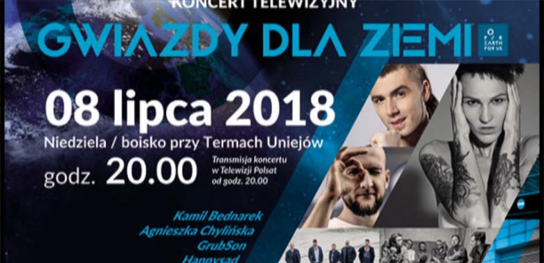 """Festiwal """"Gwiazdy dla Ziemi"""" w Uniejowie – ogłoszenie"""