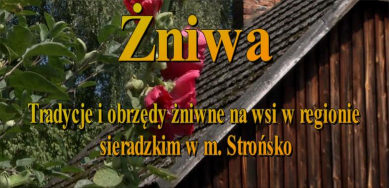 Żniwa – tradycje i obrzędy żniwne na wsi w regionie sieradzkim w m. Strońsko