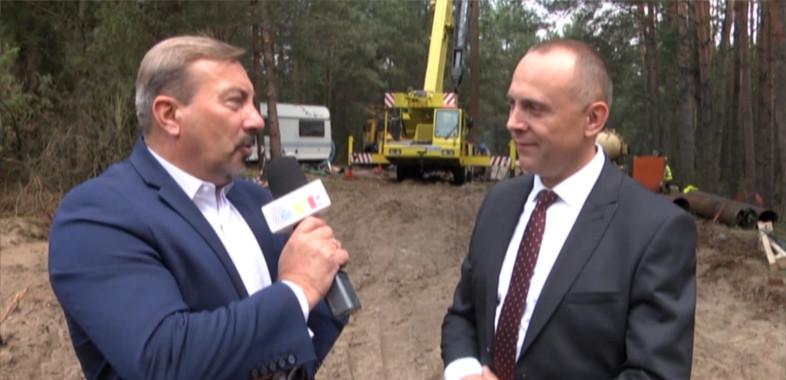 Wieści Regionalne  – rozmowa z wójtem gminy Burzenin Jarosławem Janiakiem