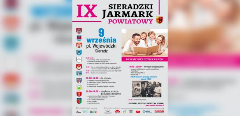 IX Sieradzki Jarmark Powiatowy – ogłoszenie