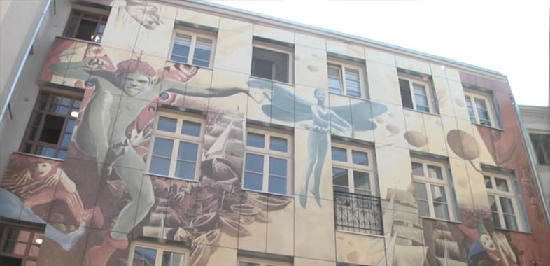 Otwarcie podwórka artystycznego w Łodzi