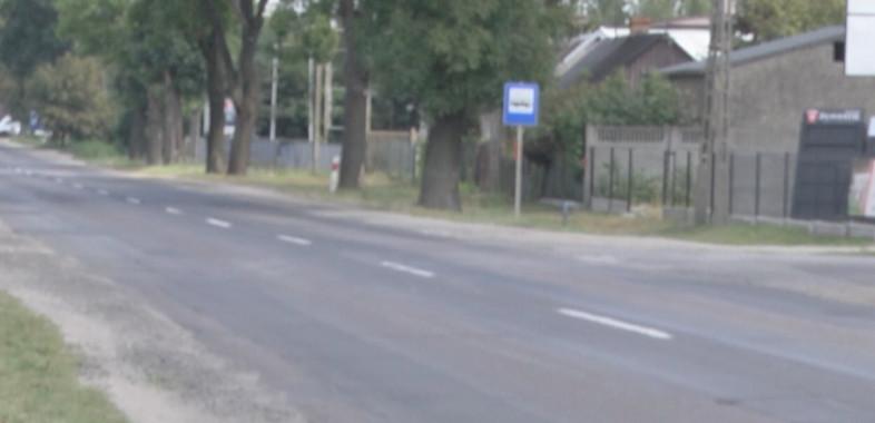 Remonty dróg wojewódzkich w Sieradzu