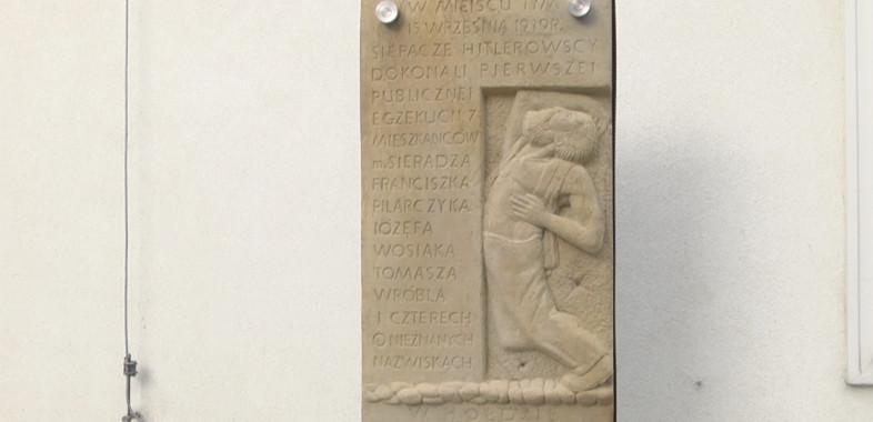 Odsłonięcie pamiątkowej tablicy przy ul. Wodnej