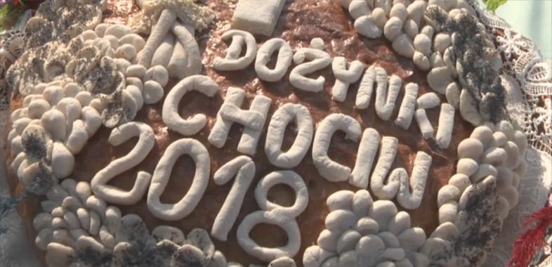 Dożynki gminno-parafialne w Chociwiu