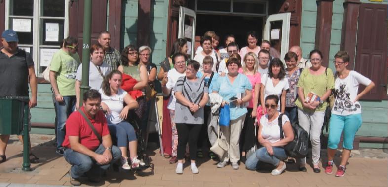 Wycieczka do Zgierza z Powiatową Biblioteką Publiczną