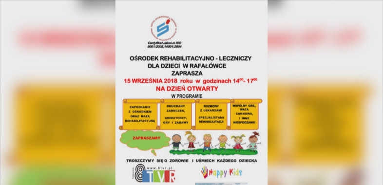 Dzień otwarty w ORL w Rafałówce – ogłoszenie