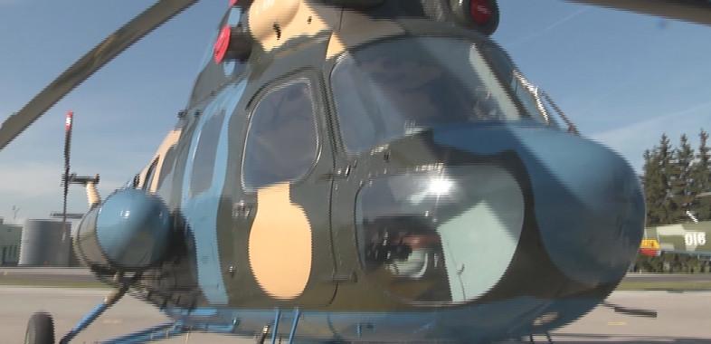 Prezentacja odrestaurowanego śmigłowca MI-2