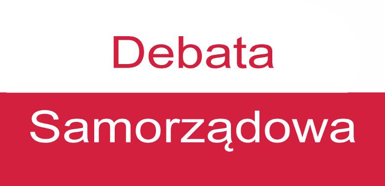 Debata wyborcza kandydatów na urząd burmistrza Łasku