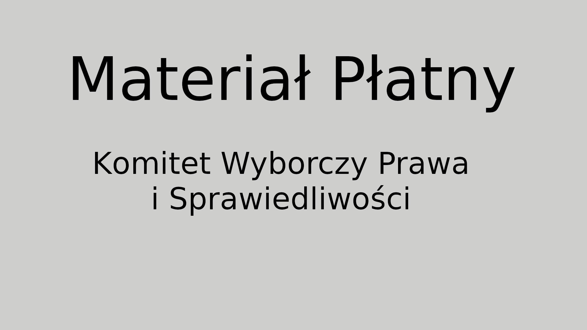 Spot Wyborczy kandydata na radnego Sejmiku Woj. Łódzkiego – Krzysztofa Ciebiady