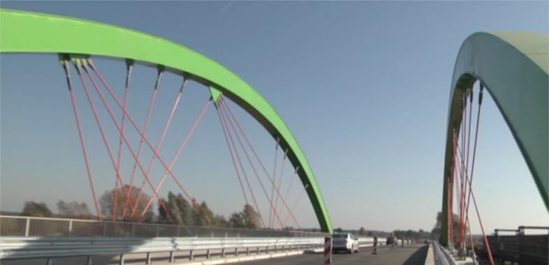 Otwarcie mostu w Warcie
