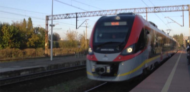 Prezentacja nowego pociągu Impuls 2 w Sieradzu