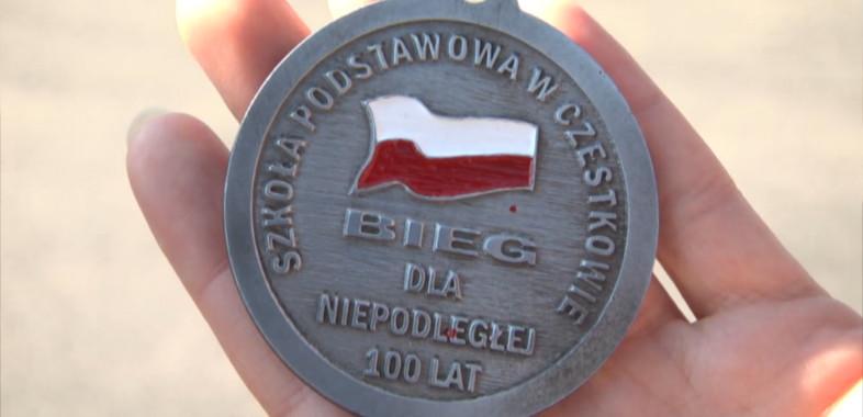 Bieg Niepodległościowy w Czestkowie