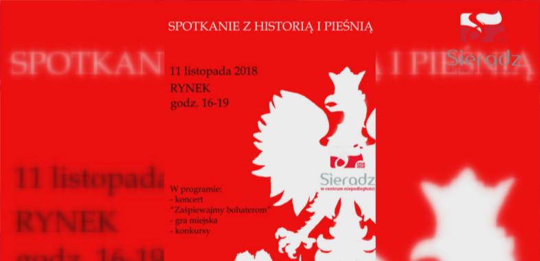 """""""Sieradz Lubie""""- Obchody Odzyskania przez Polskę niepodległości w Sieradzu"""
