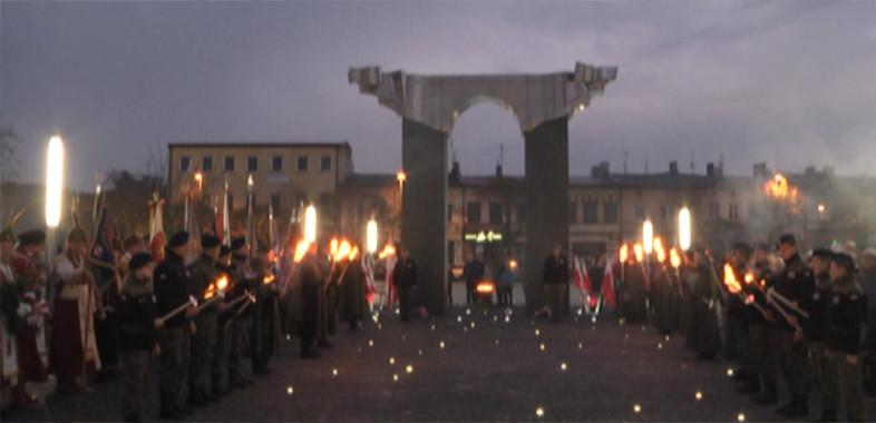 Obchody 100-lecia Odzyskania Niepodległości przez Polskę w Łasku