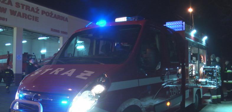 Nowy wóz dla strażaków ochotników z Warty
