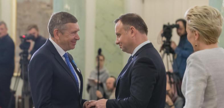 Właściciel Grupy Tubądzin odznaczony Medalem Stulecia Odzyskanej Niepodległości