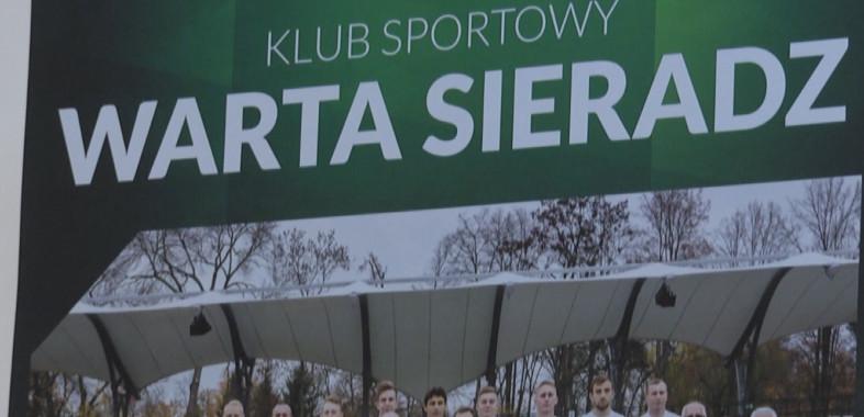 Przygotowanie piłkarzy Warty Sieradz do rundy wiosennej