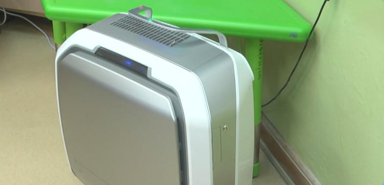 Oczyszczacze powietrza w sieradzkich przedszkolach