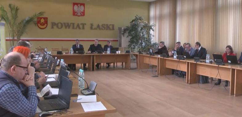 Sesja Rady Miejskiej w Łasku