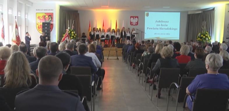 Jubileusz 20-lecia Powiatu Sieradzkiego