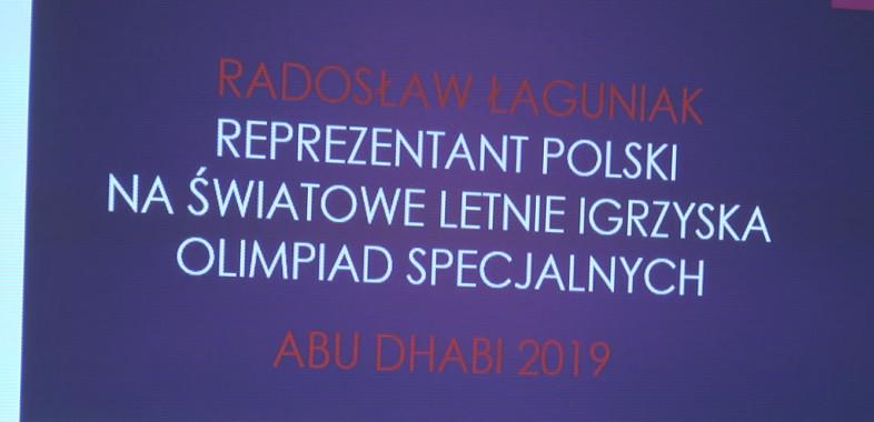 Uroczysta odprawa Radosława Łaguniaka