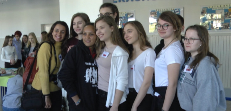 """Wizyta uczniów w ramach """"Erasmus +"""""""