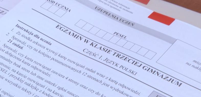 Egzaminy Gimnazjalistów w regionie