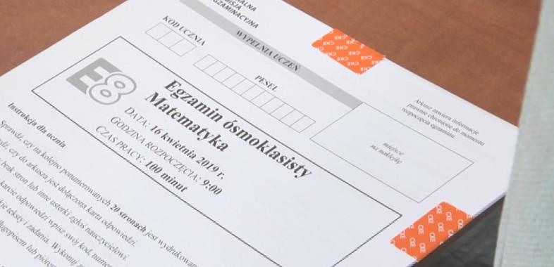 Egzaminy próbne ósmoklasistów w II połowie marca