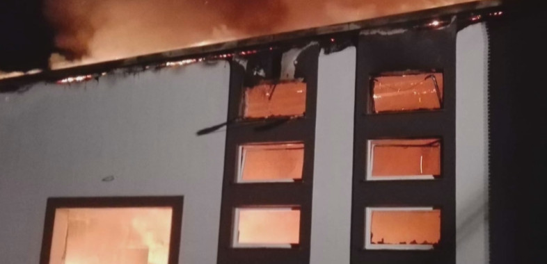 Pożar w Gorczynie