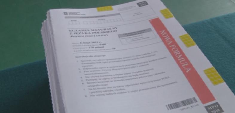 Wyniki tegorocznych egzaminów maturalnych w Powiecie Sieradzkim
