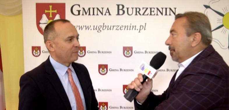 Pytanie do.. – rozmowa z wójtem Gminy Burzenin Jarosławem Janiakiem