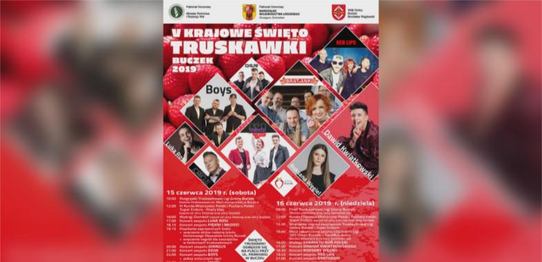 V Krajowe Święto Truskawki w Buczku – ogłoszenie
