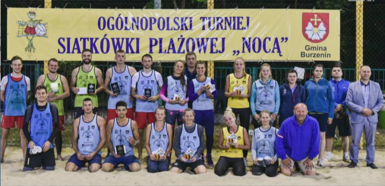 Turniej Siatkówki Plażowej Nocą