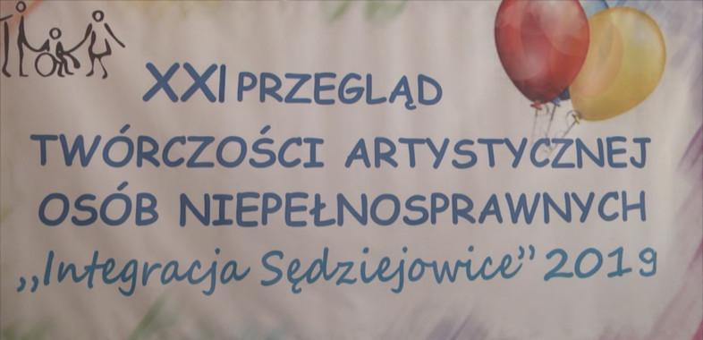 """XXI Przegląd Twórczości Artystycznej Osób Niepełnosprawnych """"Integracja Sędziejowice"""" 2019"""