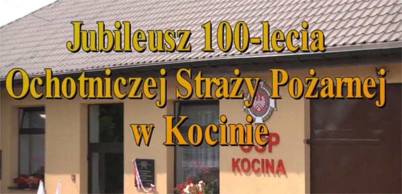 100-lecie Ochotniczej Straży Pożarnej w  Kocinie