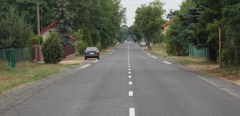 Przebudowa drogi Glinno-Włyń