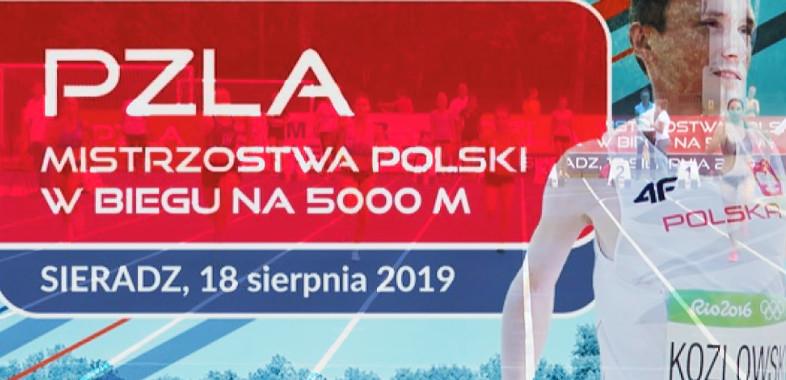 Mistrzostwa Polski na 5000m w Sieradzu