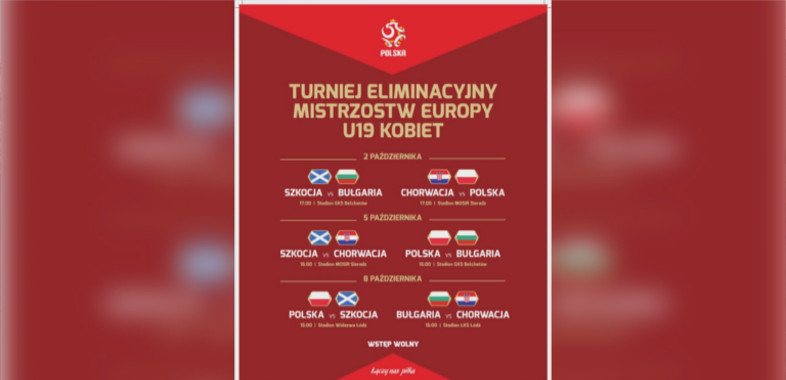 Eliminacje do finałów Mistrzostw Europy 2020 w Sieradzu