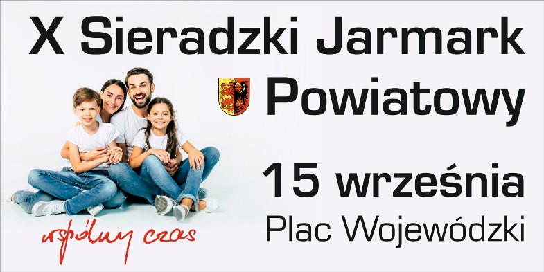 Zaproszenie na X Sieradzki Jarmark Powiatowy